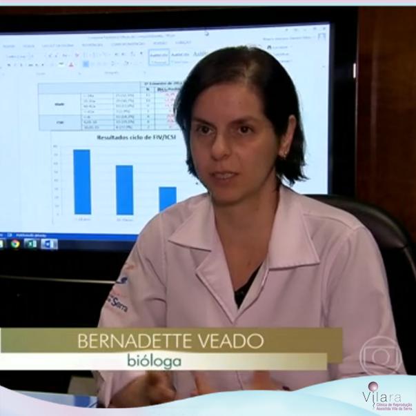 Jornal Hoje: Participação da Dra. Bernadette Veado