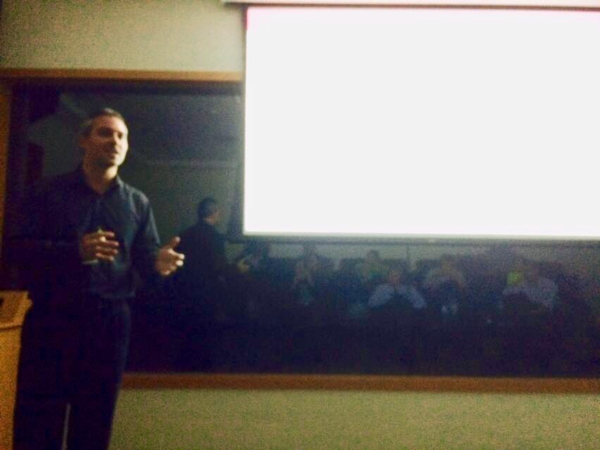 Dr. Marco Melo deu uma aula na Pós-graduação do Hospital Sírio Libanês-SP