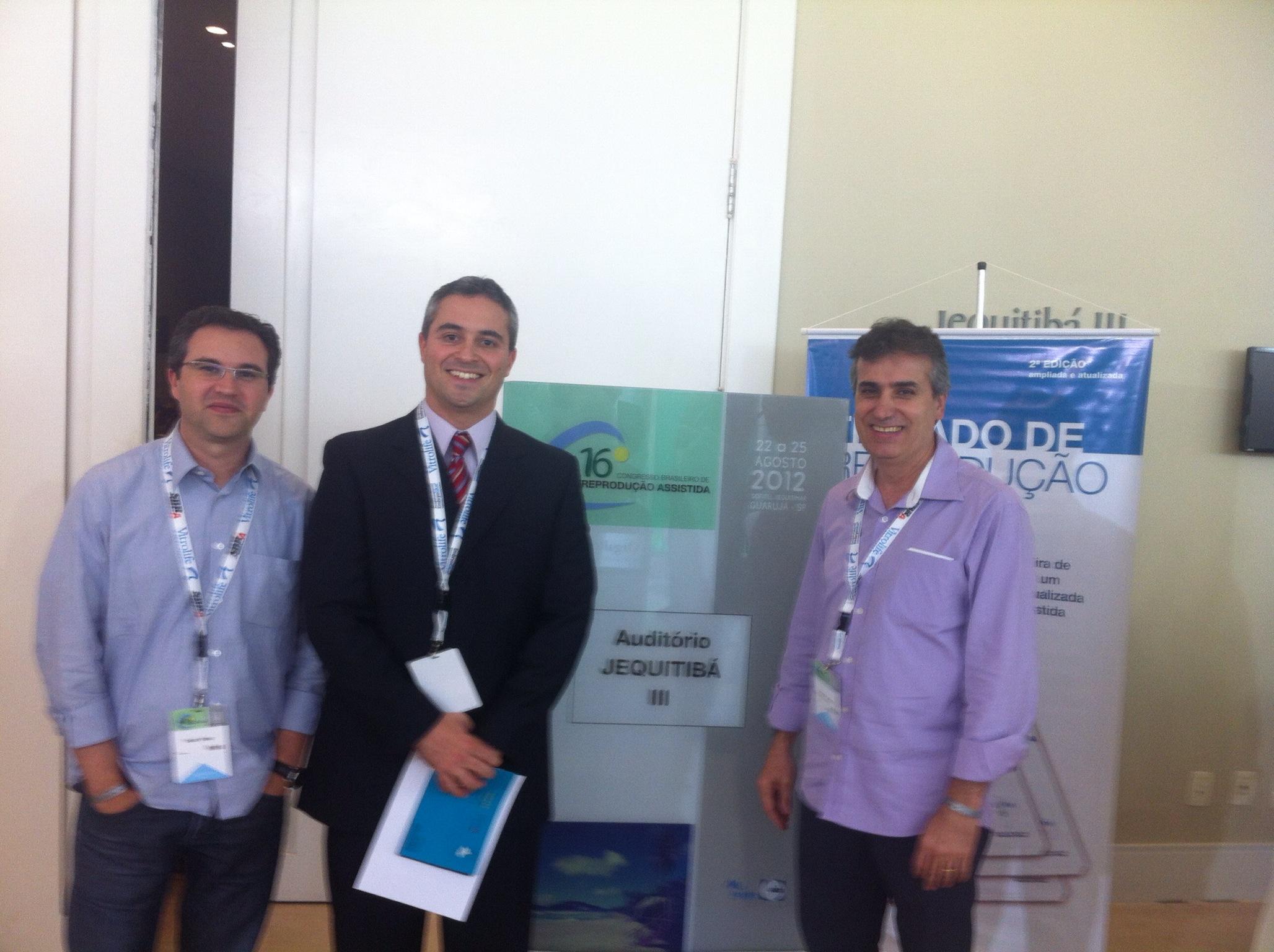 Vilara esteve presente no XVI Congresso da Sociedade Brasileira de Reprodução Assistida